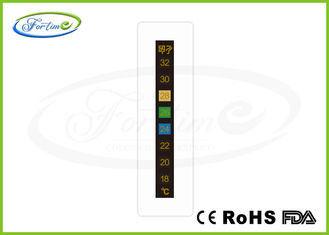 De Bonne Qualité Bande de thermomètre d'affichage à cristaux liquides de changement de couleur Ventes