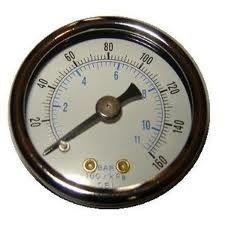 Le meilleur Les indicateurs de pression numériques de compresseur d'air, liquide ont rempli indicateur de pression