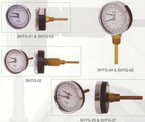 Le meilleur Composez la mesure de 80mm Tridicator, mesure de la température pour des chaudières à eau chaude