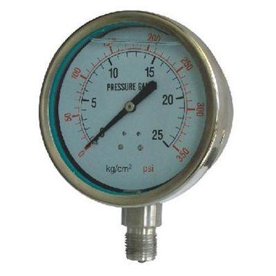 De Bonne Qualité indicateur de pression d'acier inoxydable d'acier inoxydable pour la mesure de la pression de beaucoup de genres de médias liquides corrosifs Ventes