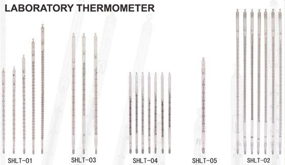De Bonne Qualité Liquide inclus d'échelle - dedans - thermomètres en verre de laboratoire pour l'industrie, agriculture Ventes