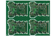 Carte faite sur commande multicouche de la carte PCB FR4 de Soldermask de vert de l'ENIG pour le transformateur en ventes